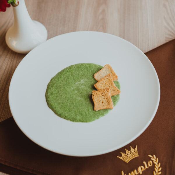 Крем-суп шпинатовий