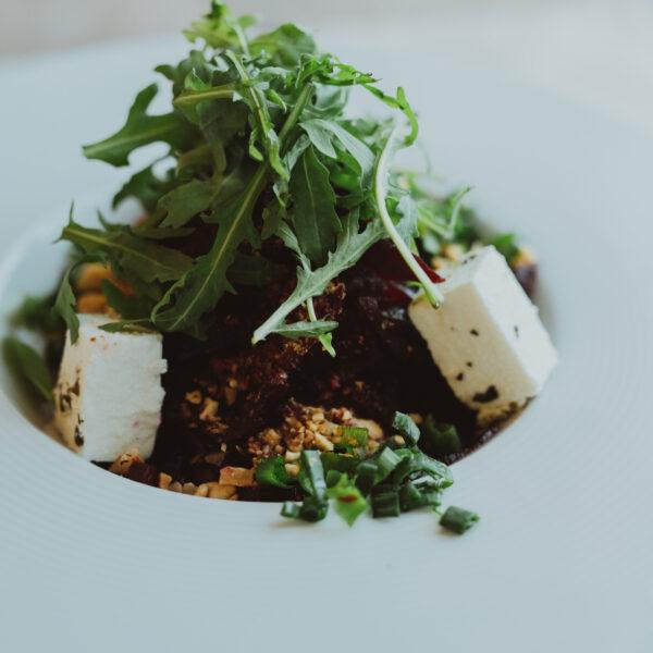 Салат з буряка та фетою