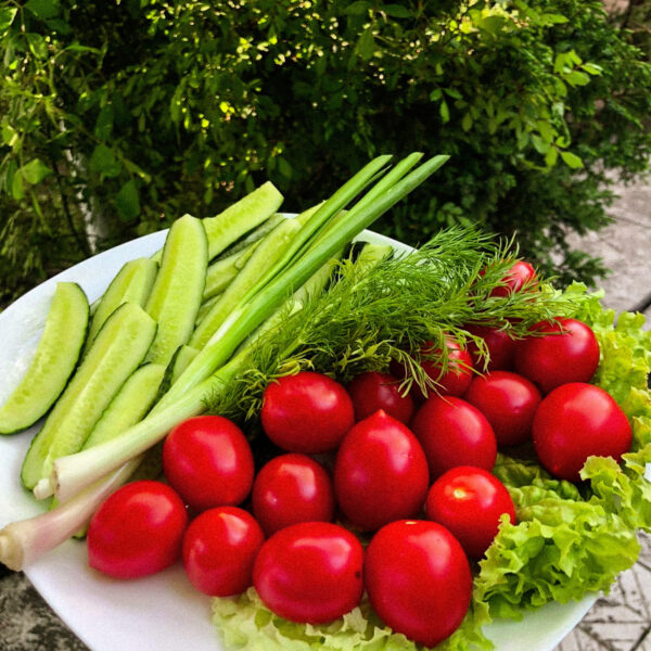 Овочі свіжі